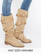 Asos CANTERBURY Suede Knee High Boots