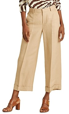 Ralph Lauren Ralph High-Rise Wide-Leg Pants