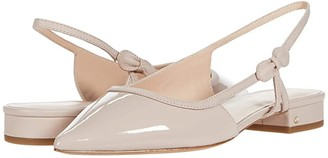 Kate Spade Mae Bow (Pale Vellum) Women's Shoes