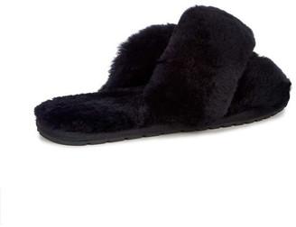 Emu Black Sheepskin Mayberry Slipper - 40 - Black