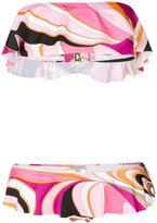 Emilio Pucci printed bikini set - women - Polyamide/Polyester/Spandex/Elastane - 42