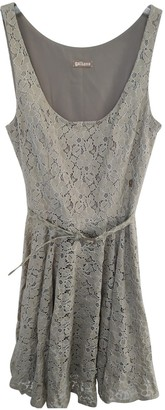 Galliano Green Lace Dress for Women