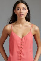 Dynamite V-Neck Cami with Buttons