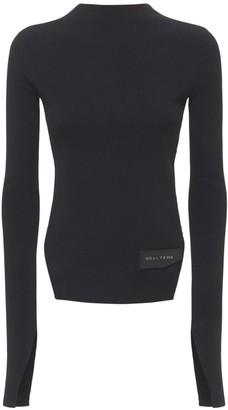 Alyx Logo Patch Viscose Blend Knit Sweater