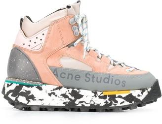 Acne Studios 90s Inspired Outdoor Hi-Top Sneakers