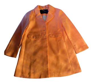 Tara Jarmon Orange Cotton Coats