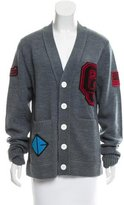 Opening Ceremony Wool-Blend Varsity Cardigan w/ Tags