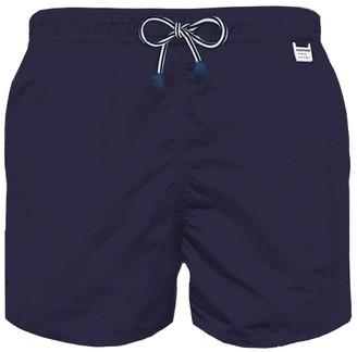 MC2 Saint Barth Pantone Blue Navy Boy Light Swim Trunks