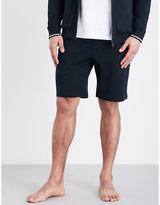 Hugo Boss Stripe Detail Cotton Shorts