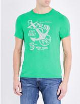Polo Ralph Lauren Graphic-print crewneck cotton-jersey t-shirt