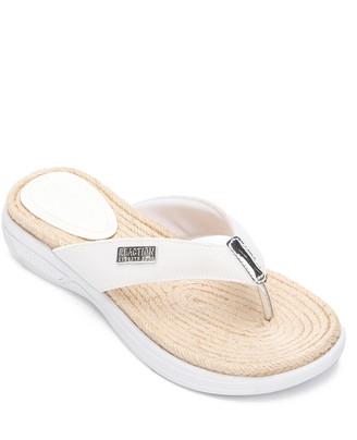 Kenneth Cole Reaction Women's Sandals WHITE - White Ready Thong Sandal - Women
