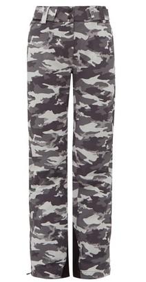 Aztech Mountain Team Aztech Camouflage-print Ski Trousers - Womens - Black Multi