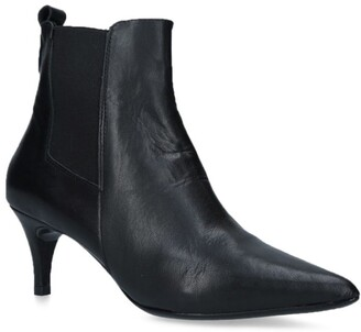 Carvela Leather Reach Ankle Boots