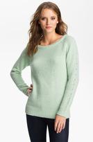 Bellatrix Fuzzy Eyelet Sweater