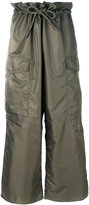 MM6 MAISON MARGIELA wide leg cargo trousers