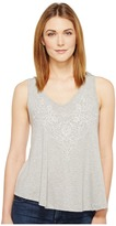 Stetson 0910 Rayon Spandex Jersey V-Neck Tank Top Women's Sleeveless