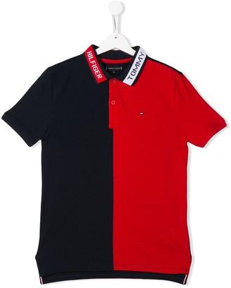 Tommy Hilfiger Junior TEEN logo polo shirt