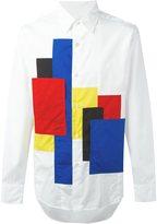 Comme des Garcons patch detail shirt