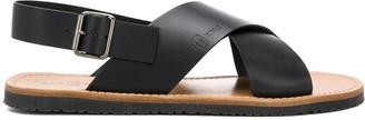 Car Shoe Cross Strap Sandals