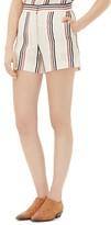 Sandro Pessy Striped Shorts