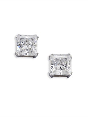 Adriana Orsini Sterling Silver Square Stud Earrings