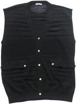 Chloé Black sleeveless cardigan