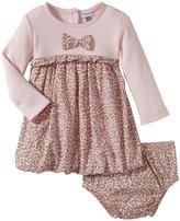 Absorba Paris Animal Print Dress Set (Baby) - Pink-12 Months