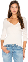 Central Park West Brighton Off Shoulder Sweater