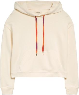 Madewell Rainbow Drawstring Hoodie Sweatshirt