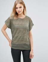 B.young Lace Blouse