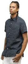 Kenneth Cole Tribal Print Short-Sleeve Button-Down Shirt