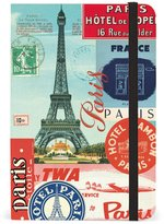 Cavallini & Co. Paris Collage 4 by 6-Inch Notebook, Small