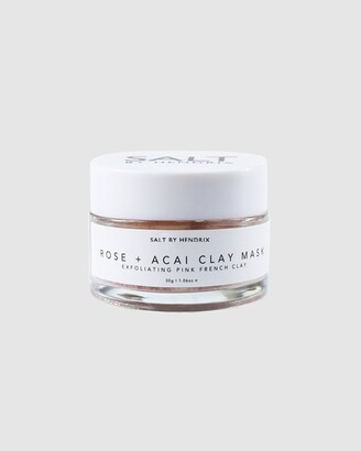 SALT BY HENDRIX Women's Pink Hydrating Masks - Rose and Acai Face Mask - Size One Size, 30g at The Iconic