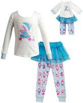 Dollie & Me Girls 4-14 Ice Skating Pajama Set