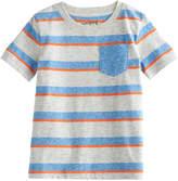Toddler Boy Jumping Beans Striped Pocket Tee