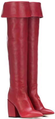 Petar Petrov Shirin leather over-the-knee boots