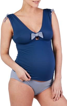 Cache Coeur St. Tropez Maternity Tankini Swimsuit