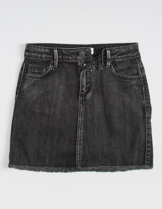 RSQ Girls Acid Wash Denim Skirt
