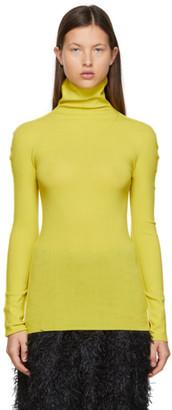 Issey Miyake Yellow APOC Baguette Turtleneck