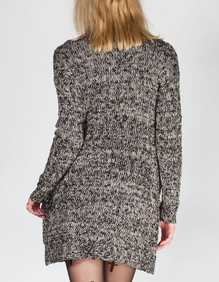 Full Tilt Womens Essential Slub Cardigan