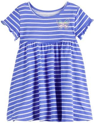 Toddler Girl Jumping Beans Ruffle Babydoll Dress