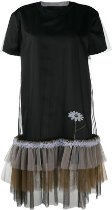 Viktor & Rolf Pretty Wallflower tulle-trimmed dress