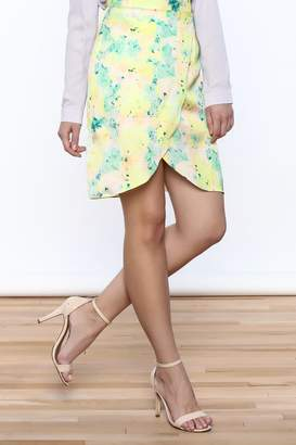 Sugar Lips Watercolor Skirt