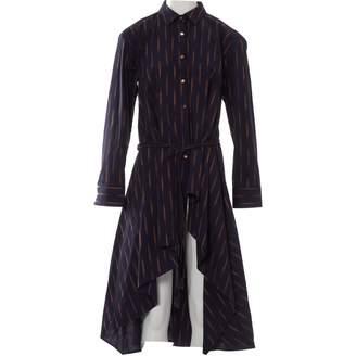 Palmer Harding Navy Cotton Dress for Women