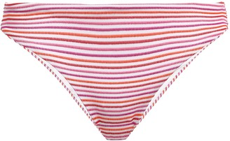 Onia Lily Stretch-jacquard Low-rise Bikini Briefs