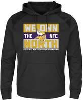Majestic Men's Minnesota Vikings 2017 NFC North Division Champions Armor Hoodie