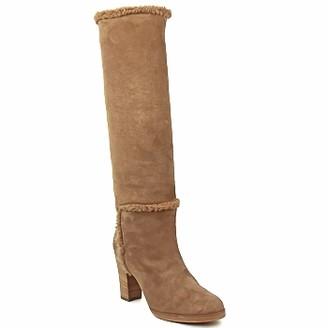 Veronique Branquinho MERINOS women's High Boots in Brown