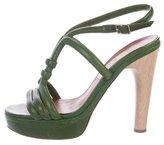 Lanvin Multistrap Platform Sandals