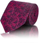 Ermenegildo Zegna Men's Floral Jacquard Necktie-PINK