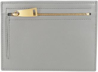 Bottega Veneta Intrecciato Weave Zipped Cardholder